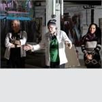 Москва,  Центр дизайна ARTPLAY , 16 марта 2014  -   состоялся проект  Ирины Сидориной и Давида Ру «Дети и абстракция»,  фоторепортаж Екатерины Финогеновой